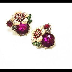 💕Anthropologie Crystal Earrings 🌸